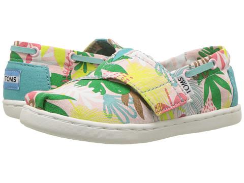 Incaltaminte Fete TOMS Bimini Espadrille (InfantToddlerLittle Kid) Pink Tropical Palms