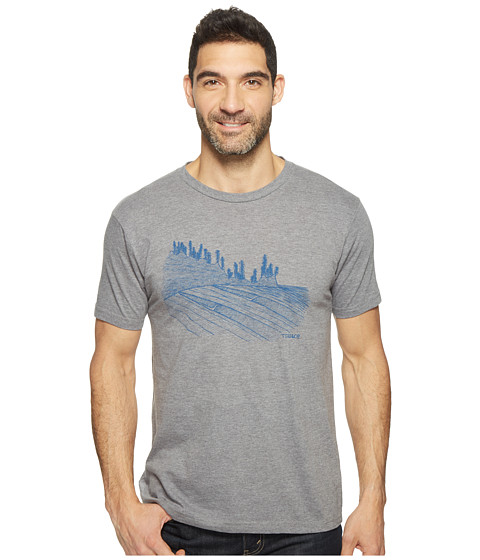 Imbracaminte Barbati ToadCo Waves For Days Graphic Tee Gray Heather