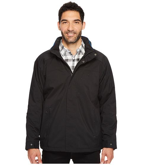 Imbracaminte Barbati IZOD Water Resistant Fleece-Lined Jacket with Hidden Hood Black