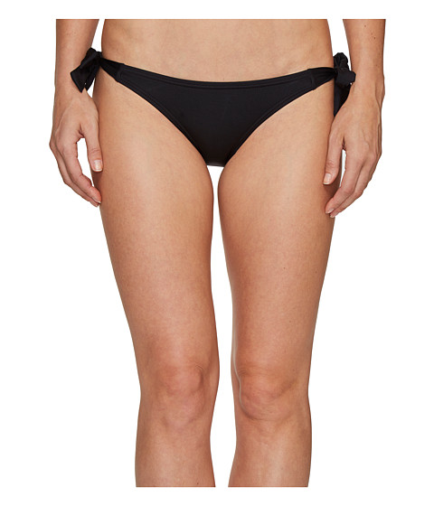 Imbracaminte Femei Vince Camuto Draped Solids Side Tie Bikini Bottom Black