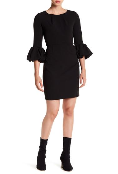 Imbracaminte Femei Alexia Admor Balloon Sleeve Sheath Dress BLACK