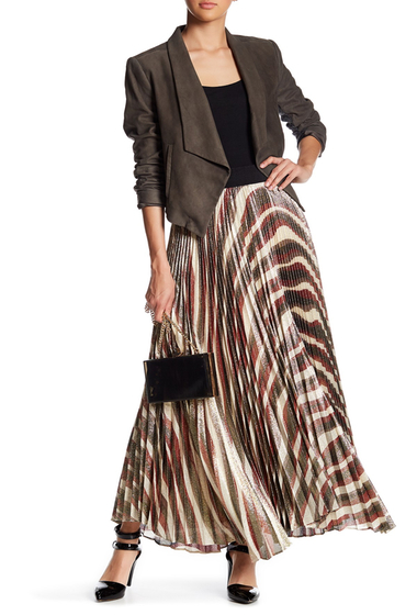 Imbracaminte Femei Alice Olivia Maura Sunburst Pleated Skirt MULTI
