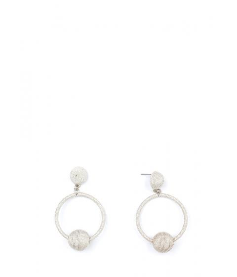 Bijuterii Femei CheapChic Planets In Orbit Thread-wrapped Earrings Silver