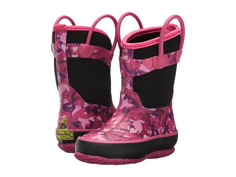 Incaltaminte Fete Western Chief Kids Heart Camo Neoprene Boot (ToddlerLittle Kid) Black