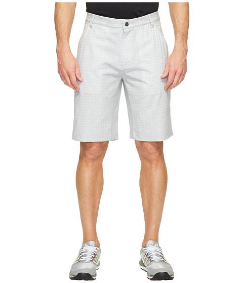 Imbracaminte Barbati adidas Golf Ultimate 365 Airflow Textured Grid Shorts Mid Grey