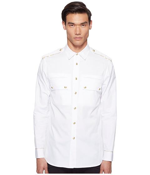 Imbracaminte Barbati Timberland Epaulet Button Up Off-White