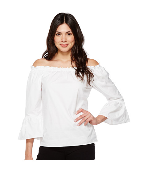 Imbracaminte Femei Karen Kane Convertible Off the Shoulder Top White