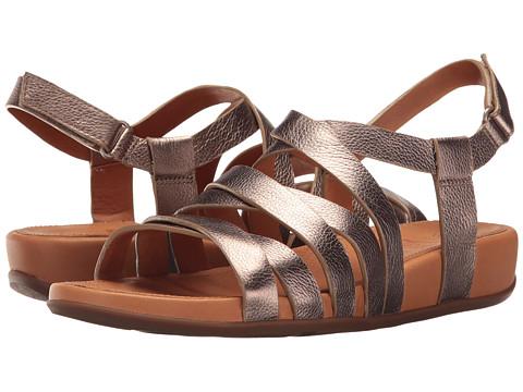 Incaltaminte Femei FitFlop Lumy Leather Sandal Bronze
