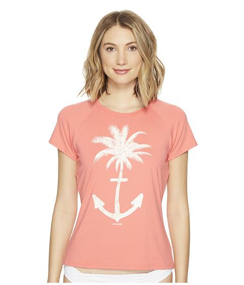 Imbracaminte Femei ONeill Graphic Short Sleeve Rash Tee Coral