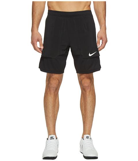 Imbracaminte Barbati Nike Court Dry 9quot Tennis Short BlackWhite