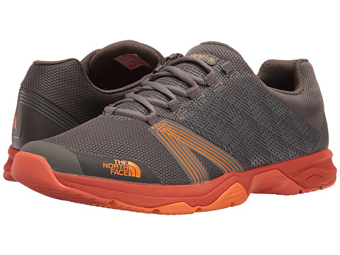 Incaltaminte Barbati The North Face Litewave Ampere II Dark Gull GreyExuberance Orange (Prior Season)