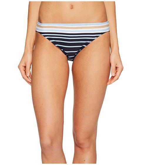 Imbracaminte Femei MICHAEL Michael Kors Abby Stripe Classic Bikini Bottom Khaki