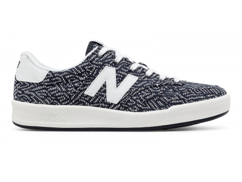Incaltaminte Femei New Balance Womens 300 Cotton Denim Navy with Off White