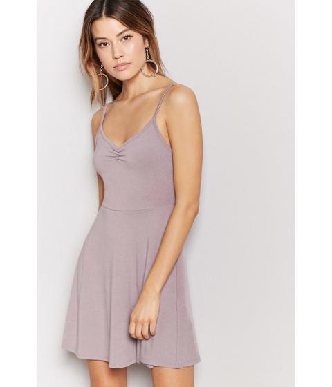 Imbracaminte Femei Forever21 V-Neck Cami Swing Dress WALNUT