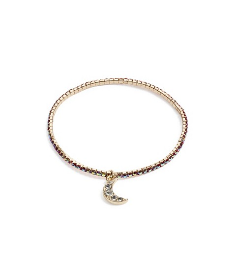 Bijuterii Femei GUESS Gold-Tone Moon Stretch Bracelet gold