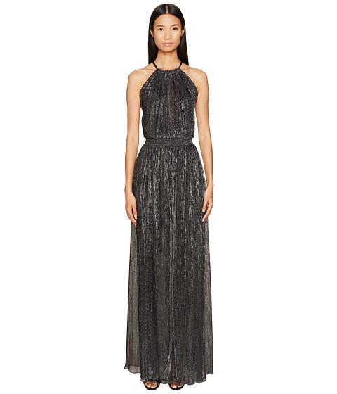 Imbracaminte Femei Just Cavalli Halter Sheer Long Dress Black