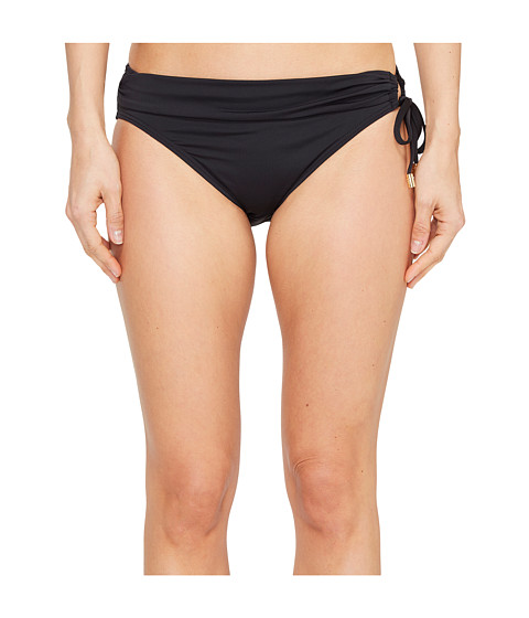 Imbracaminte Femei Tommy Bahama Pearl Hipster Bikini Bottom with Ring Black