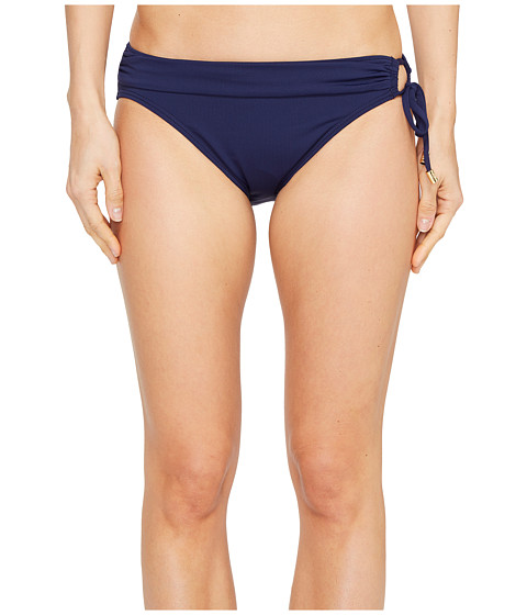 Imbracaminte Femei Tommy Bahama Pearl Hipster Bikini Bottom with Ring Mare Navy
