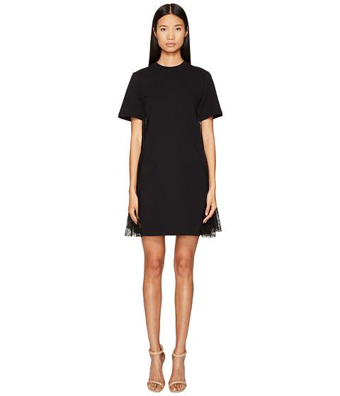Imbracaminte Femei McQ Flared Insert Dress Darkest Black
