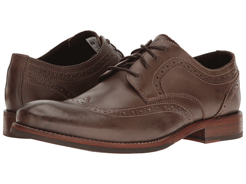 Incaltaminte Barbati Rockport Wyat Wingtip Oxford Coffee Leather