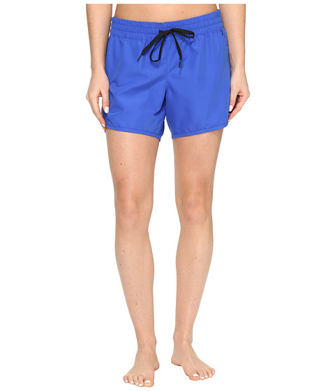 Imbracaminte Femei Hurley One amp Only Solid 5quot Boardshorts Racer Blue