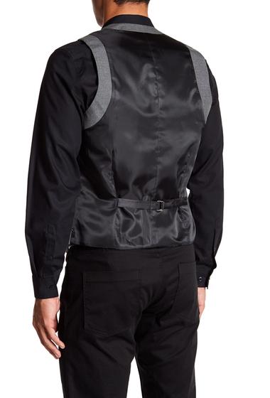 Imbracaminte Barbati TOPMAN Grey Five Button Extra Trim Waistcoat GREY