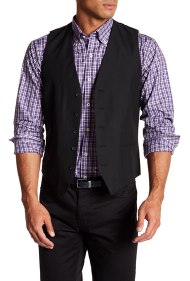 Imbracaminte Barbati TOPMAN Black Five Button Extra Trim Waistcoat BLACK