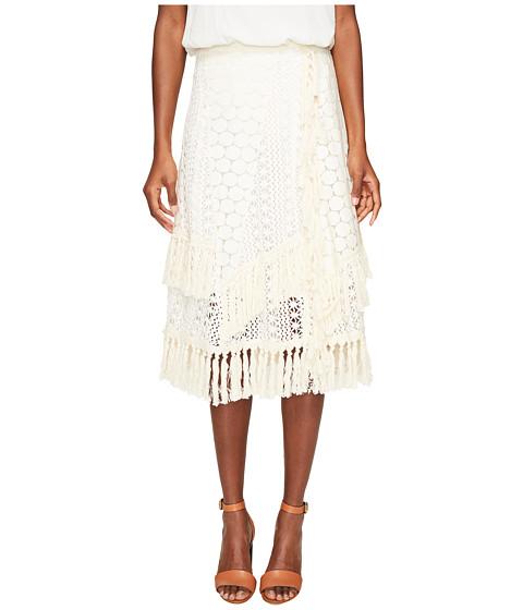 Imbracaminte Femei See by Chloe Crochet Fringe Skirt Off-White