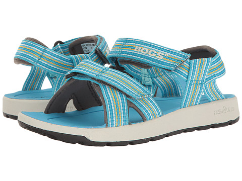 Incaltaminte Fete Bogs Rio Stripes Sandal (ToddlerLittle KidBig Kid) Light Blue Multi