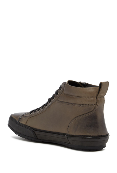 Incaltaminte Barbati John Varvatos Star R Zip Hi-Top Sneaker LEAD