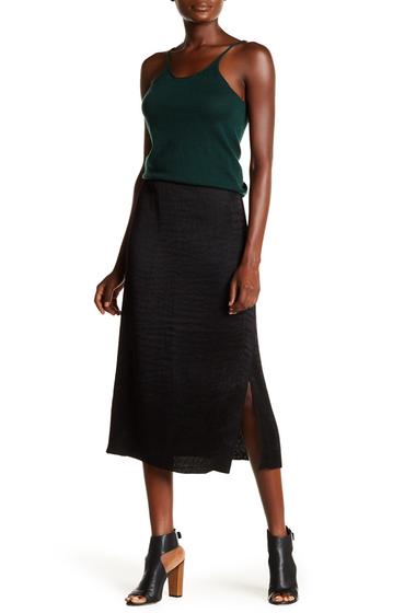 Imbracaminte Femei Tibi Accordion Pleated Midi Skirt BLACK