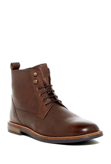 Incaltaminte Barbati Ben Sherman Brent Plain Toe Boot BROWN