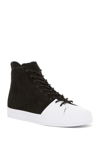Incaltaminte Barbati Creative Recreation Carda High-Top Sneaker BLACK WHITE