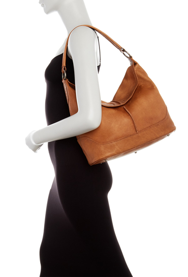 Genti Femei Frye Cara Leather Hobo Bag BEIGE