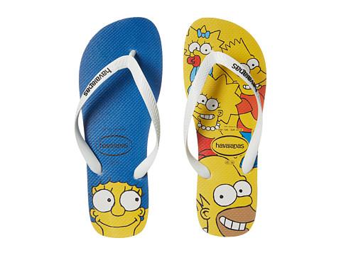 Incaltaminte Barbati Havaianas Simpsons Flip-Flops White