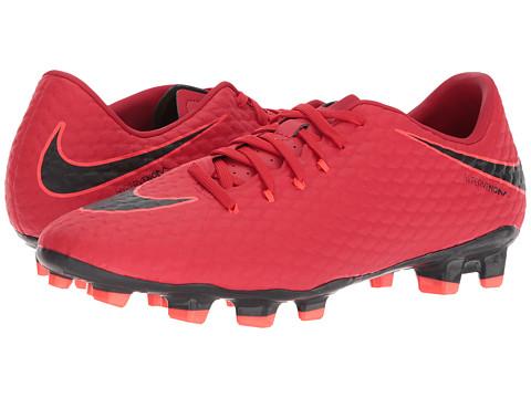 Incaltaminte Barbati Nike Hypervenom Phelon III FG University RedBlackBright Crimson