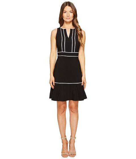 Imbracaminte Femei Kate Spade New York Lace Inset Crepe Dress Black