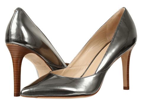 Incaltaminte Femei Johnston Murphy Vanessa Pump Pewter Italian Mirrored Metallic Leather