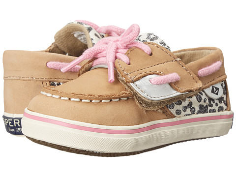 Incaltaminte Fete Sperry Top-Sider Bluefish Crib Jr (InfantToddler) LinenSnow Leopard
