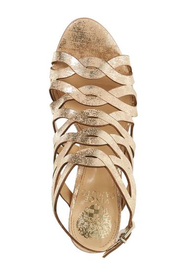 Incaltaminte Femei Vince Camuto Norla Block Heel Sandal METAL BEIGE