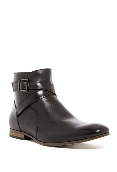 Incaltaminte Barbati Public Opinion Mrs Stevens Leather Boot BLACK LEATHER