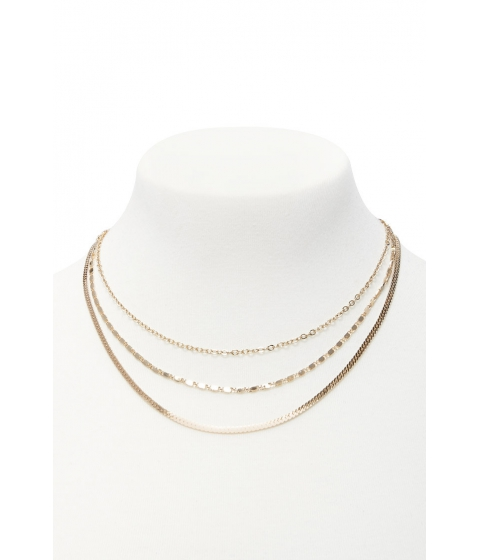 Bijuterii Femei Forever21 Assorted Chain Necklace Set GOLD