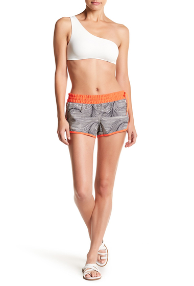 Imbracaminte Femei Hurley Brooks Printed Shorts ANTHRACITE