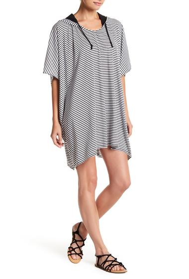 Imbracaminte Femei Hurley DRI-Fit Short Sleeve Poncho WHITE STRI
