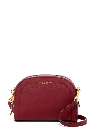 Genti Femei Marc Jacobs Playback Leather Crossbody Bag ZINFANDEL