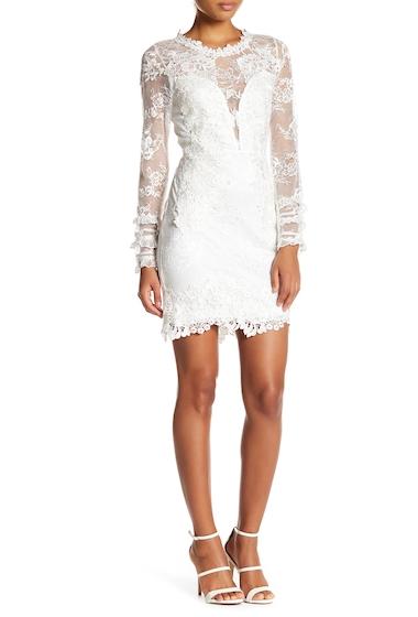 Imbracaminte Femei Soieblu Allover Lace Dress IVORY
