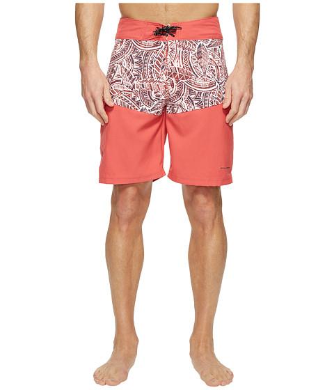 Imbracaminte Barbati Columbia Low Drag Board Shorts Sunset Red Poly Tuna
