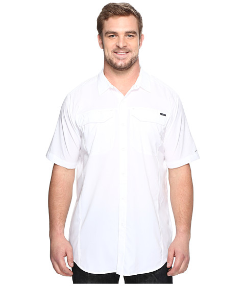 Imbracaminte Barbati Columbia Big amp Tall Silver Ridge Lite Short Sleeve Shirt White