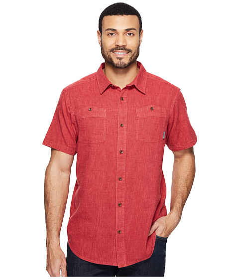 Imbracaminte Barbati Columbia Southridge Short Sleeve Shirt Sunset Red