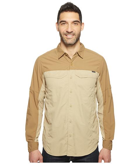 Imbracaminte Barbati Columbia Silver Ridge Blocked Long Sleeve Shirt British TanDelta